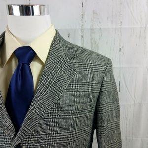 Haggar Clothing City Casual 43S Gray Blazer Sports